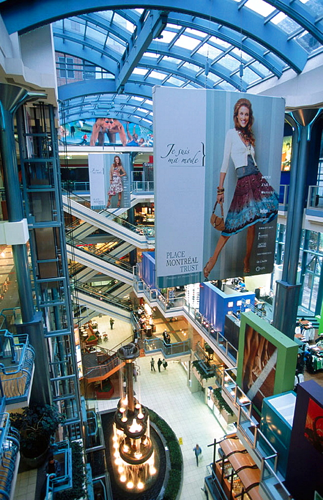 Place Montreal Trust shopping center, Montreal, Canada