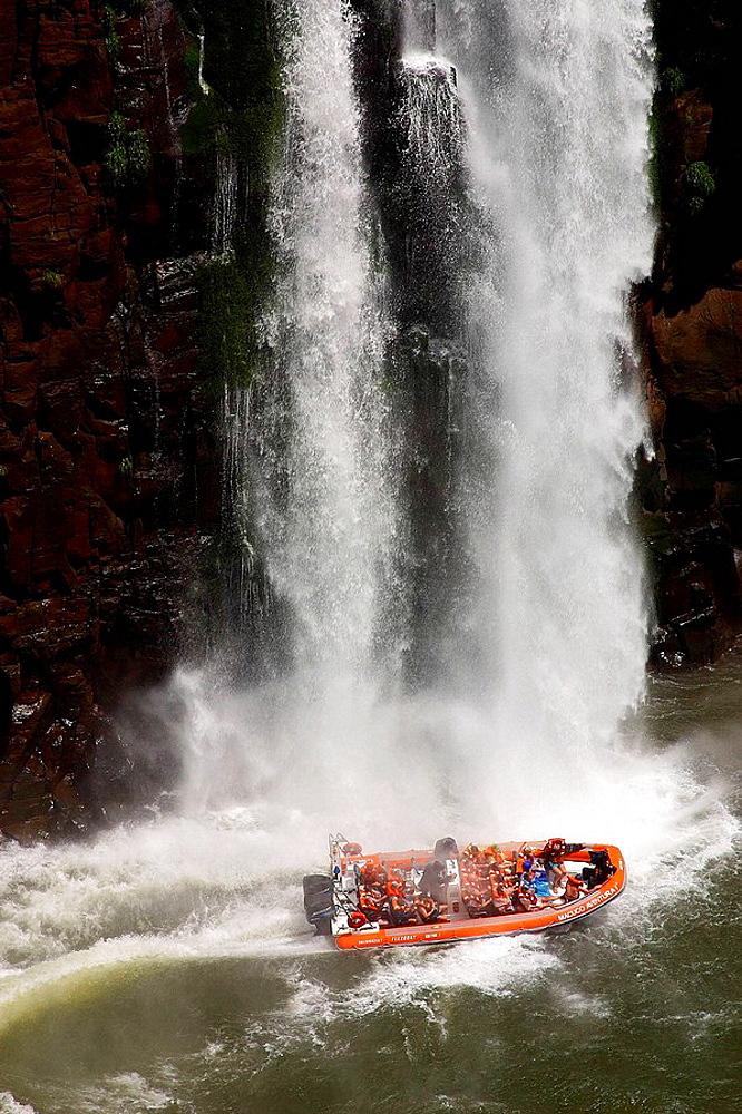 Waterfalls, Iguazu National Park, Argentina-Brazil border - 817-154118