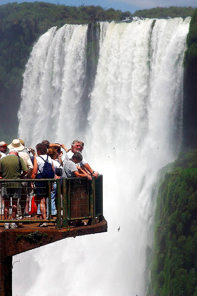 Waterfalls, Iguazu National Park, Argentina-Brazil border - 817-154120