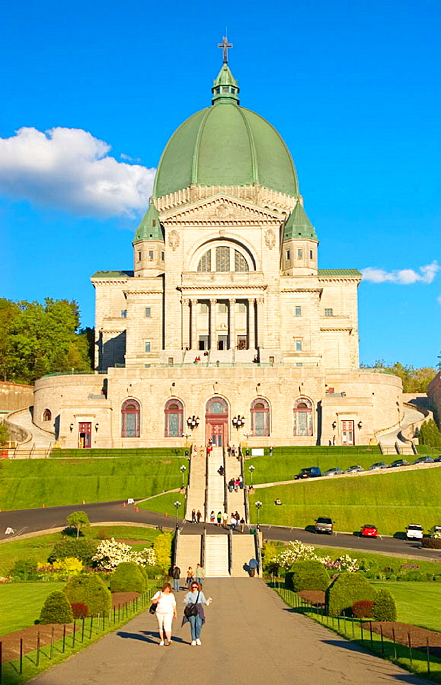 St-Josephs Oratory (Oratoire St-Joseph) was completed in 1960, Montreal, Quebec, Canada