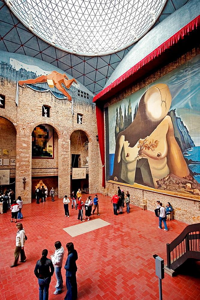 Dali Museum, Figueres, Alt Emporda, Girona province, Catalonia, Spain