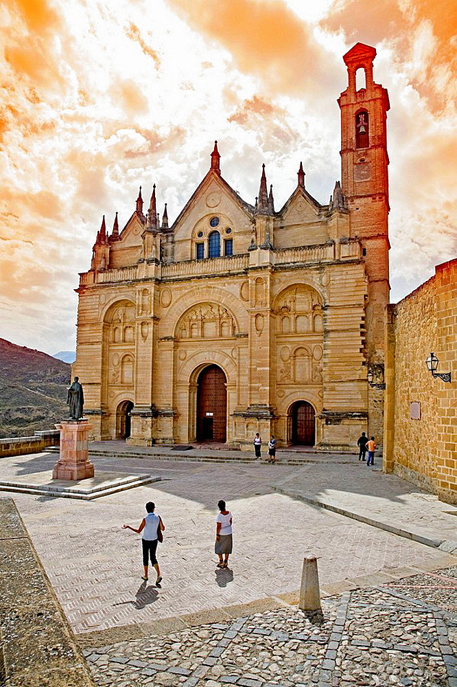 Royal collegiate church of Santa Maria la Mayor, Antequera, Malaga province, Spain