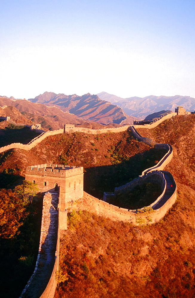 Great Wall of China at Jinshanling, China