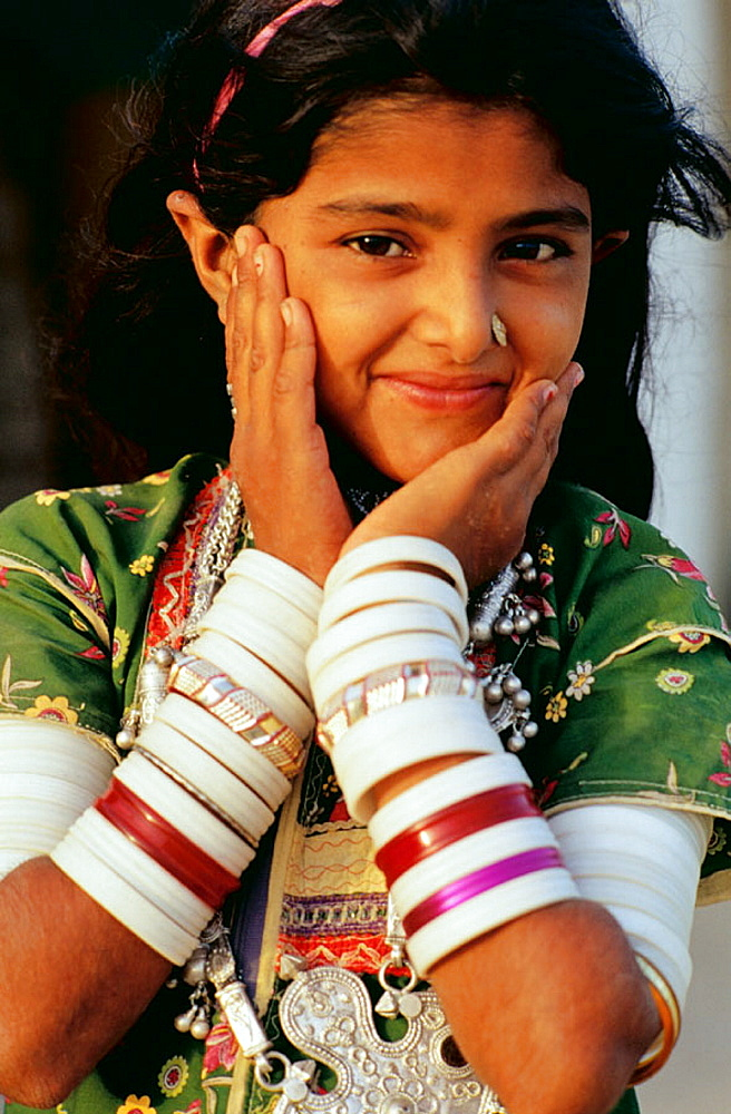 Rural Indian Girl - 817-1703