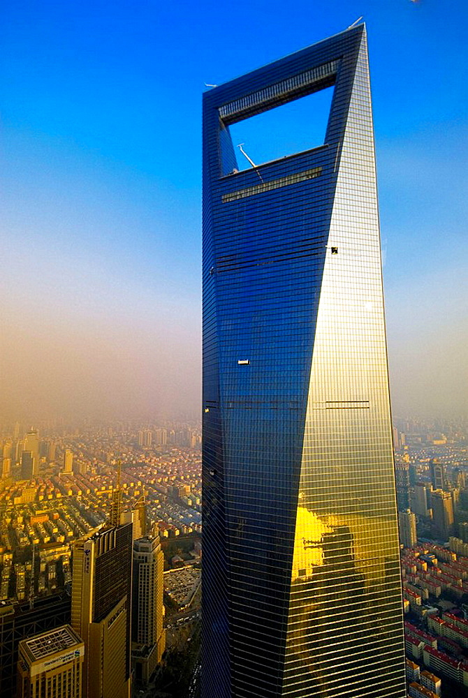Shanghai World Financial Center, Lujiazui Financial District, Pudong area, Shanghai, China