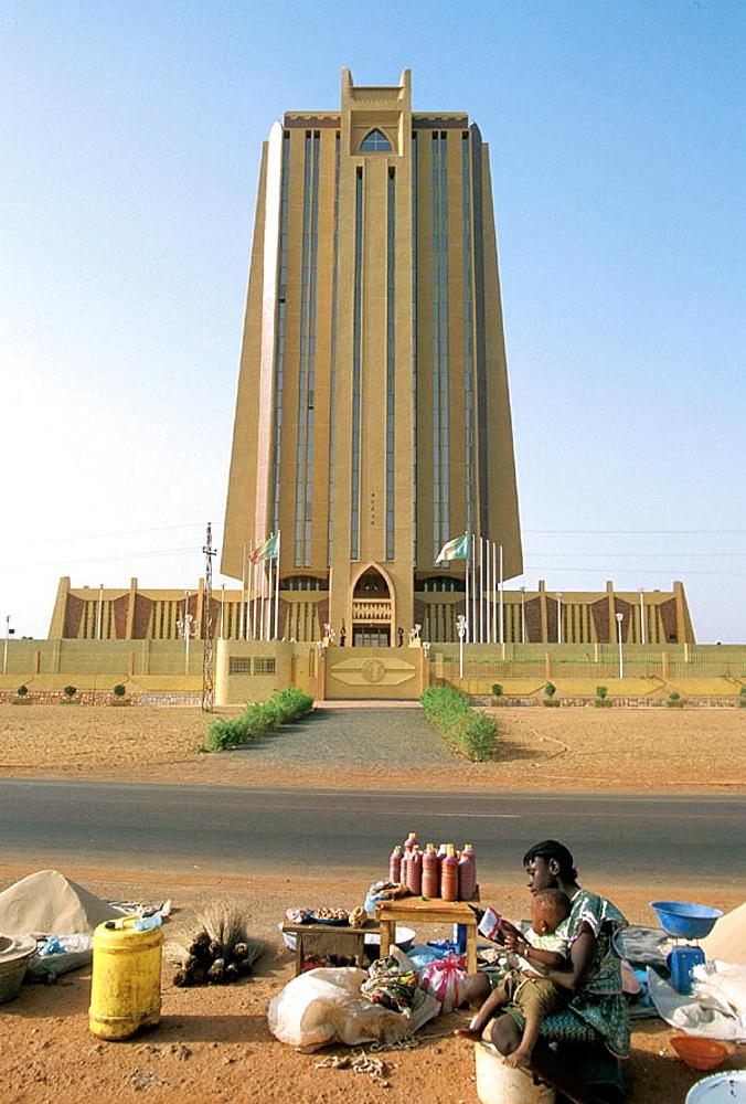Banque Centrale des Etats de l'Afrique de l'Ouest (BCEAO), Bamako, Mali.
