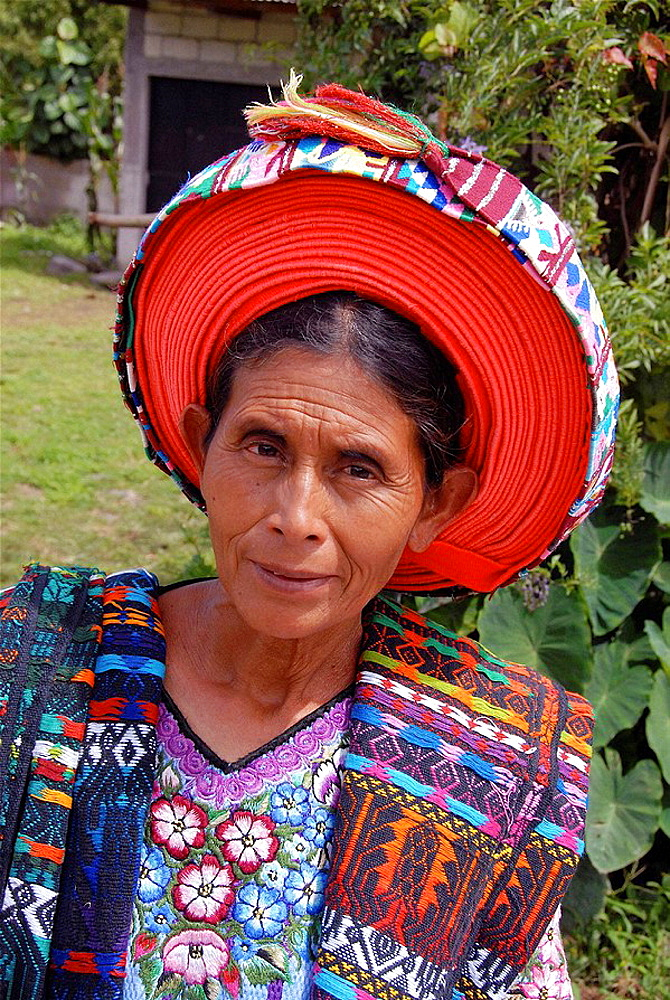 Mayan woman, Santiago Atitlan, Guatemala