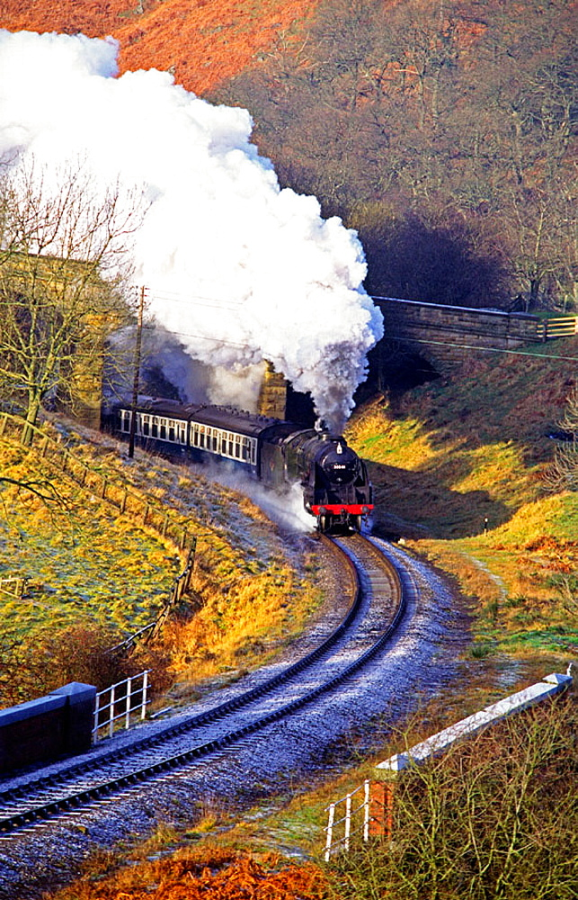 England, Yorkshire, North Yorkshire Moors Railway (NYMR)