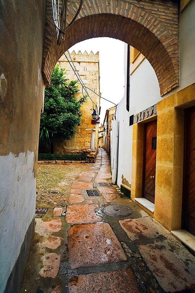 La Juderia (old jewish quarter), Historic Center of Cordoba (Added to the Unescos World Heritage List in 1984), Cordoba, Andalusia, Spain