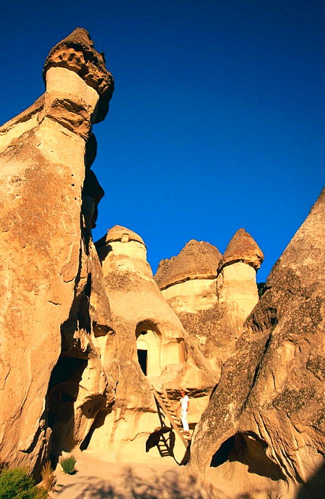 Zelve Valley, Cappadocia, Turkey