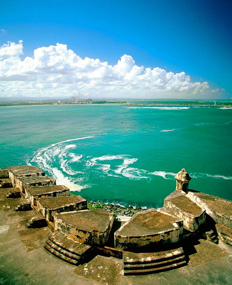 Fortress of El Morro, San Juan, Puerto Rico