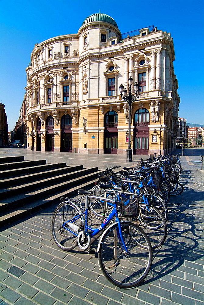 Teatro Arriaga, Bilbao, Biscay, Basque Country, Spain