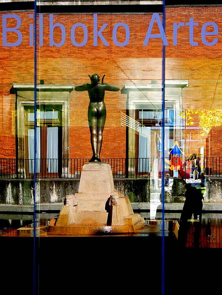 Museo de Bellas Artes (1945), Bilbao, Bizkaia, Basque country, Spain