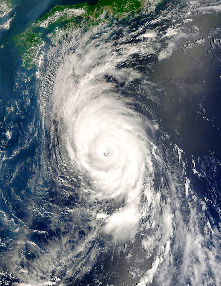 Category 4 Typhoon Usagi