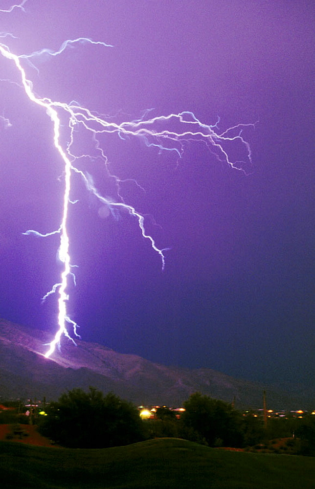 Lightning, Tucson, Arizona, USA