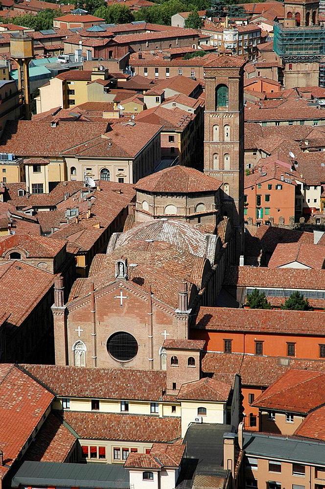 Bologna (Italy), church of San Giacomo Maggiore