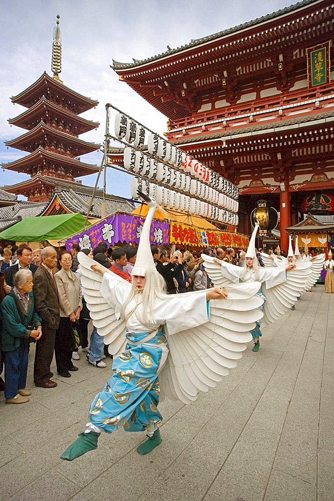 Nov.2007, Japan, Tokyo City, Jidai Festival - 817-19464