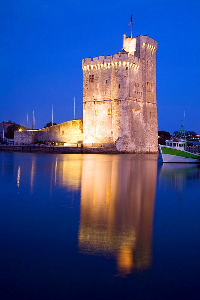 Harbor of La Rochelle (France)