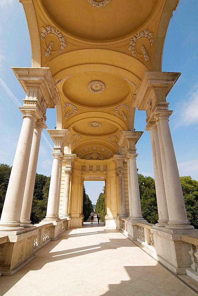 The Gloriette, Schonbrunn Palace Gardens, Vienna, Austria, Europe