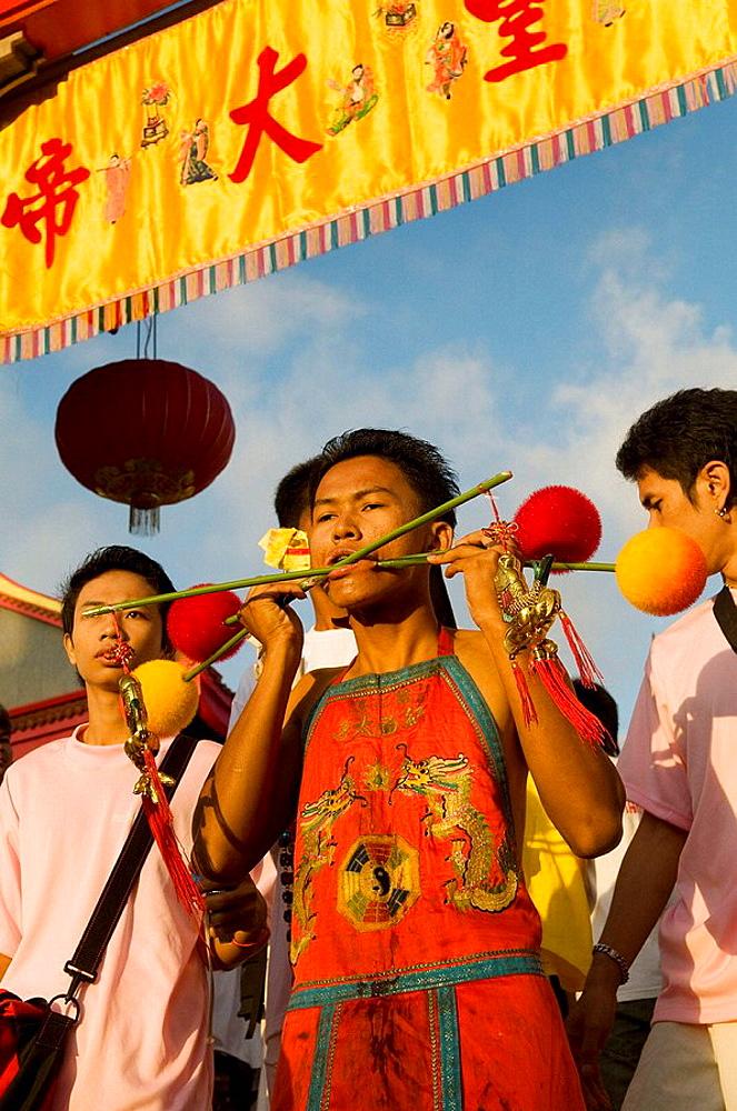 Sceens of Phuket's Vegetarian festival - 817-200637