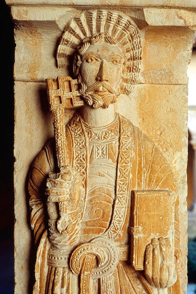 Cloister of Saint Sauveur cathedral, Aix-en-Provence, Provence, France
