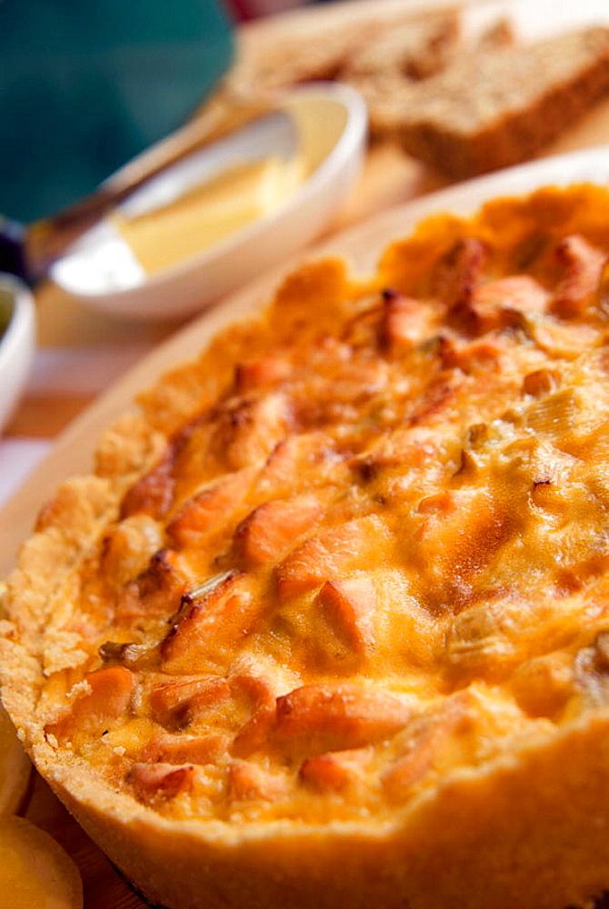 Onion and Scallion Tart, Irish Food