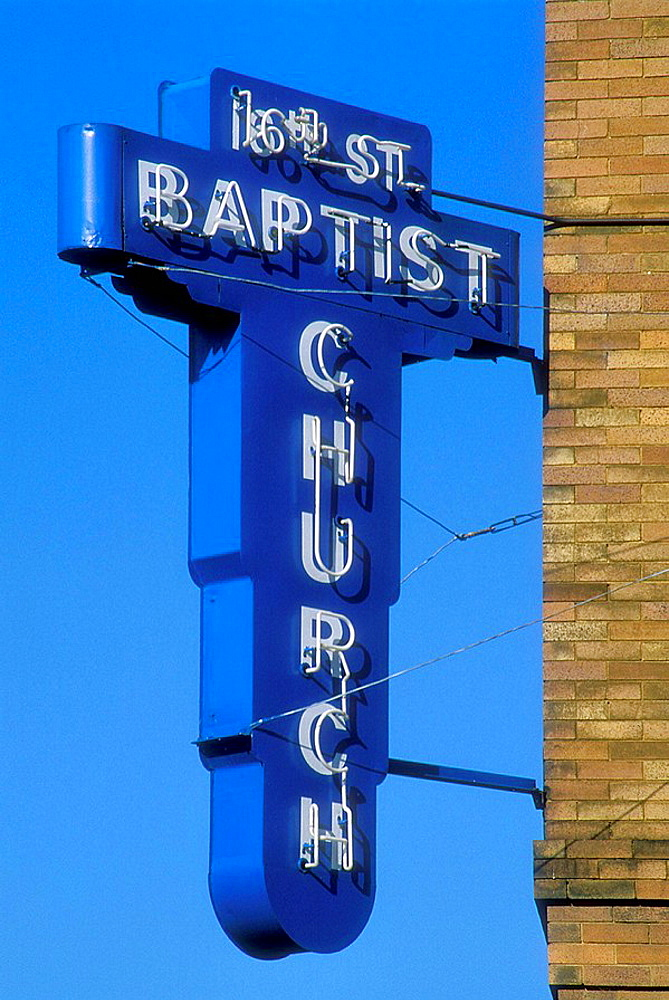 16th Ave Baptist Church, Birmingham, Alabama, USA