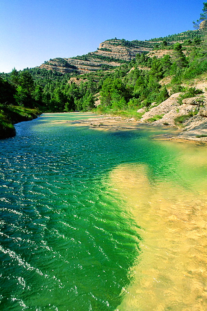 Ulldemo River, Els Ports de Beseit, Tarragona province, Spain