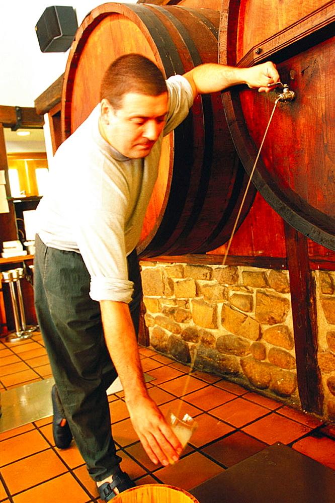 Cider house, San Sebastian, Spain