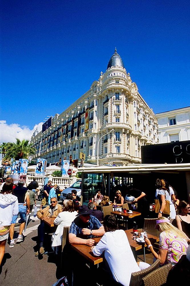 Cannes, Croisette, Alpes-Maritimes, 06, French Riviera, Cote dAzur, PACA, France, Europe