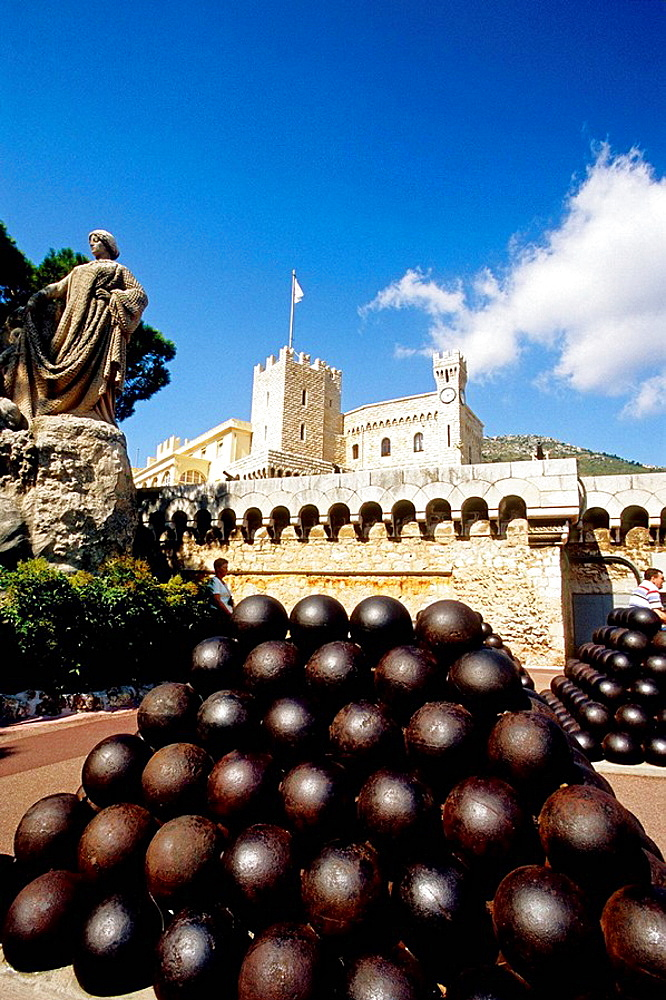 Monaco, Monte Carlo, Principaute de Monaco, Prince Palace, French Riviera, cote dazur, Europe