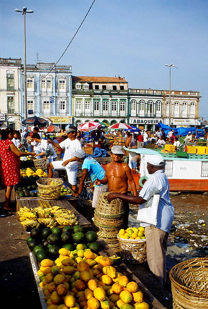 The Amazonian market of Ver o Peso in Belem northern Brazil South America