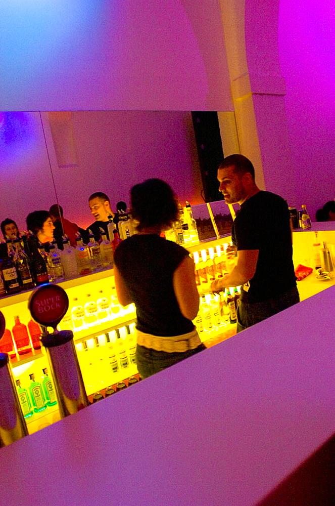 Left lounge Bar, largo Vitorino Damasio 3, Lisbon, Portugal.