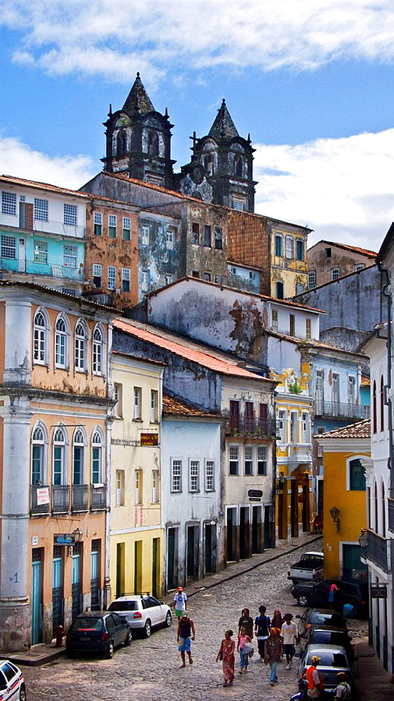 Pelourinho district, Salvador de Bahia, Brazil. - 817-23149