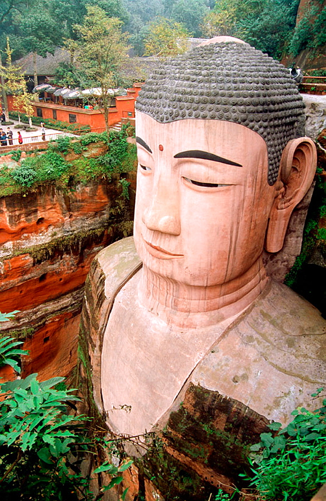 Grand Buddha, Leshan, Sichuan province, China