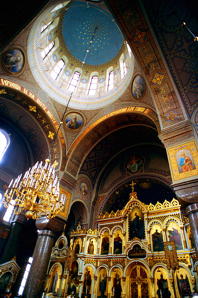 Uspensky Orthodox Cathedral, Helsinki, Finland.