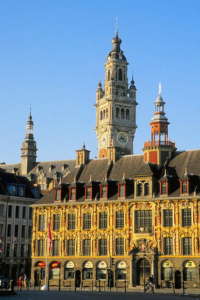 France, Flandres, Lille, Vieille Bourse
