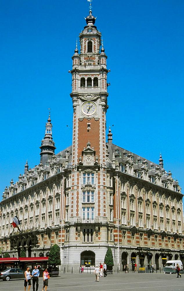 France, Flandres, Lille, Chambre de Commerce