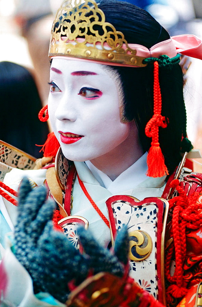 Woman at Jidai Matsuri Festival (Festival of Ages), Kyoto, Japan