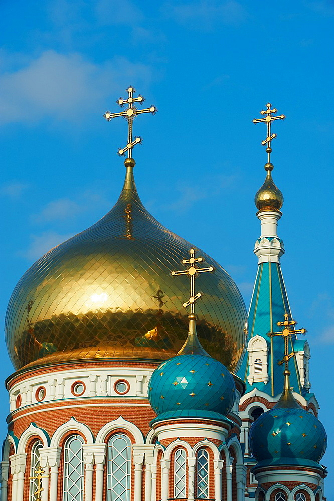 Russia, Siberia, Omsk, Dormition Cathedral