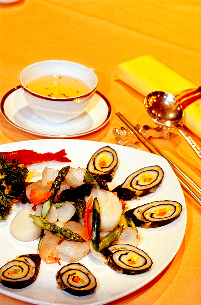 Shanghai style sea food, Chinese restaurant of Sheraton Hotel, Hongqiao new business district, Shanghai, China - 817-26220