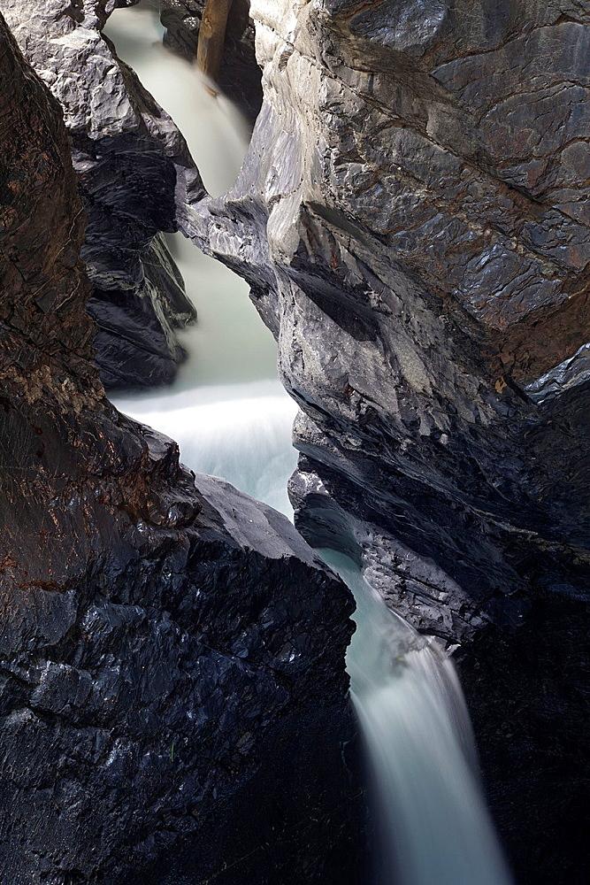 Trummelbach falls, world natural heritage, Lauterbrunnen, Bernese Oberland, Switzerland