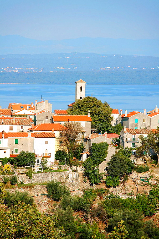 Beli village on Cres Island, Croatia
