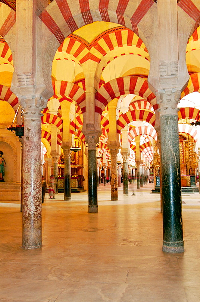 Almanzor's construction at Cordoba's mosque, Historic city of Cordoba, Andalusia, Spain