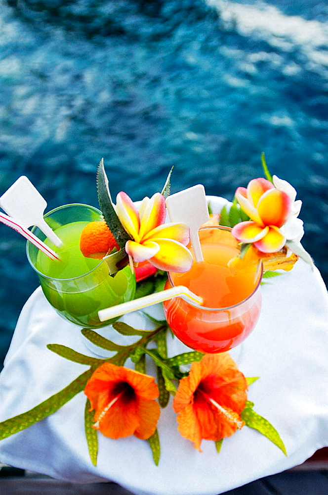 Hotel Beachcomber, Tahiti island, French Polynesia, South Pacific. - 817-27536