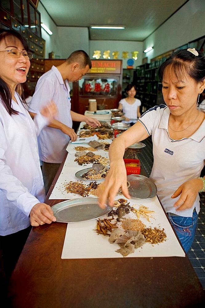 Bin Tay market at Cholon, Ho Chi Minh City, Vietnam