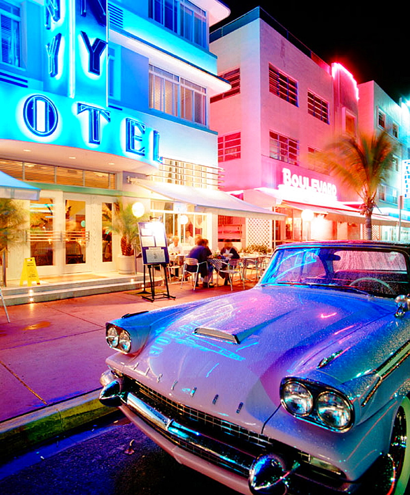 Deco district, Miami Beach, Florida, USA - 817-2966