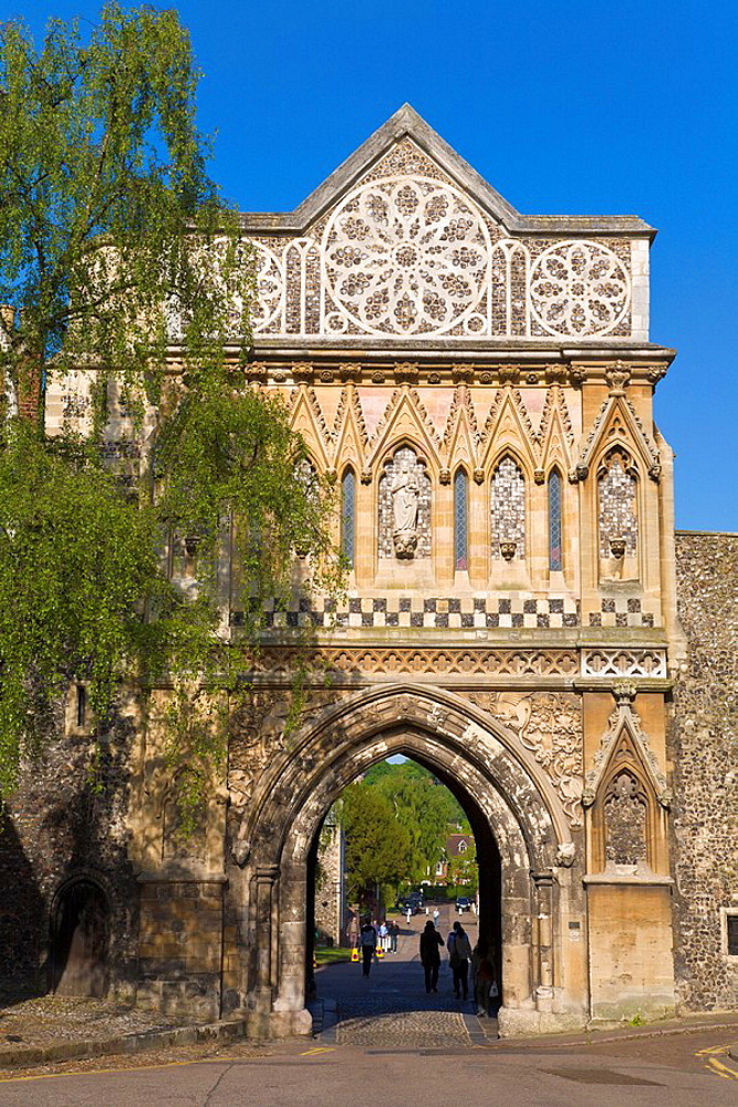 England, Europe, Norwich, Norfolk, west front, St Ethelberts Gate, city, UK, United Kingdom, Great Britain, Europe, Su. England, Europe, Norwich, Norfolk, west front, St Ethelberts Gate, city, UK, United Kingdom, Great Britain, Europe, Su