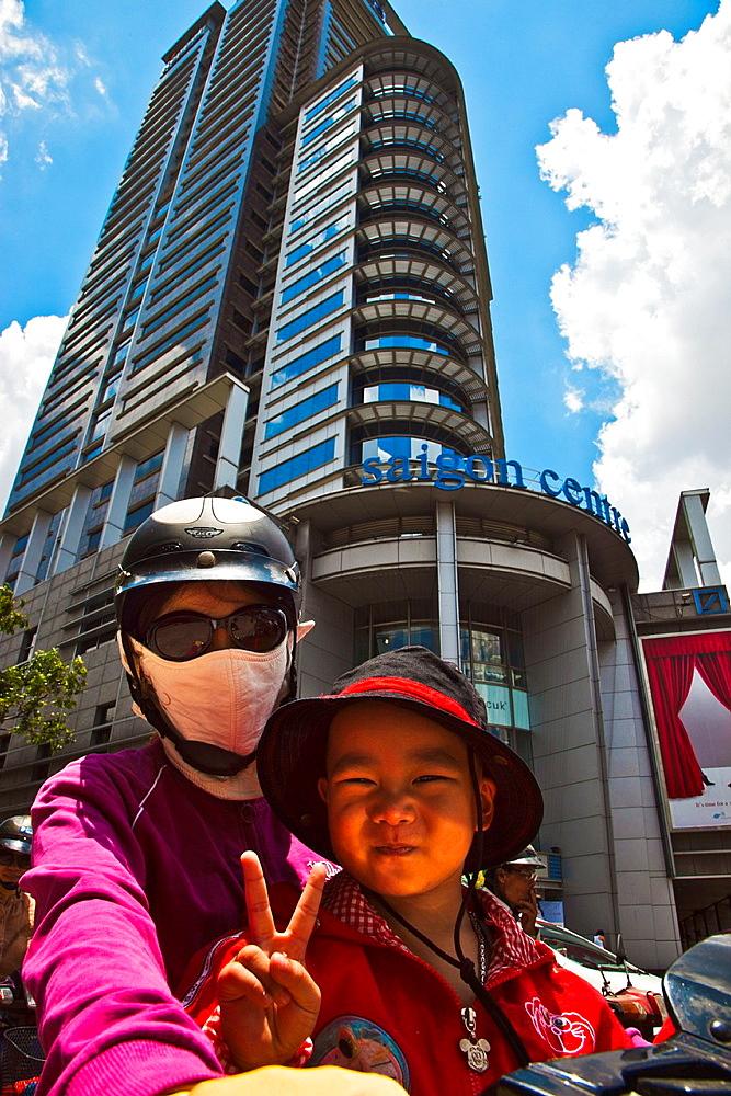 Shopping Centre Saigon. Ho Chi Minh City (formerly Saigon). South Vietnam.