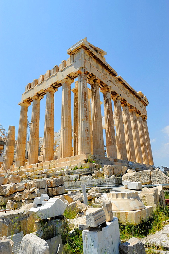The Parthenon Acropolis Athens Greece Kallikrates Iktinos Athena